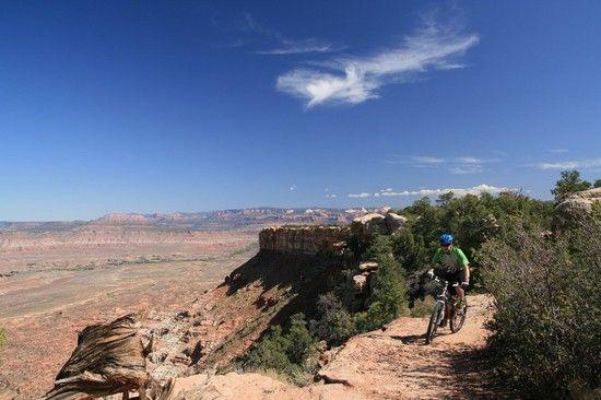 Gooseberry Mesa Slickrocktrail Utah