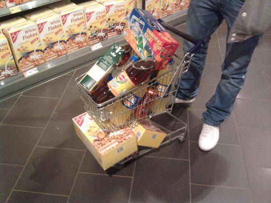 Einkaufen in Wibe