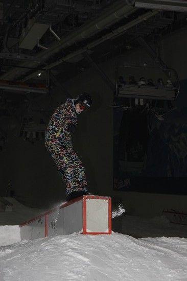 Boxboardslide Ende