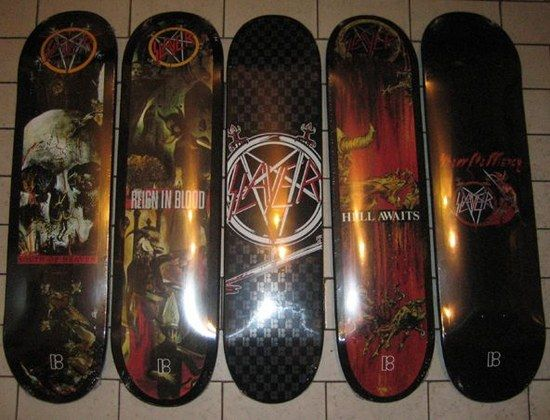 Slayer Skateboards