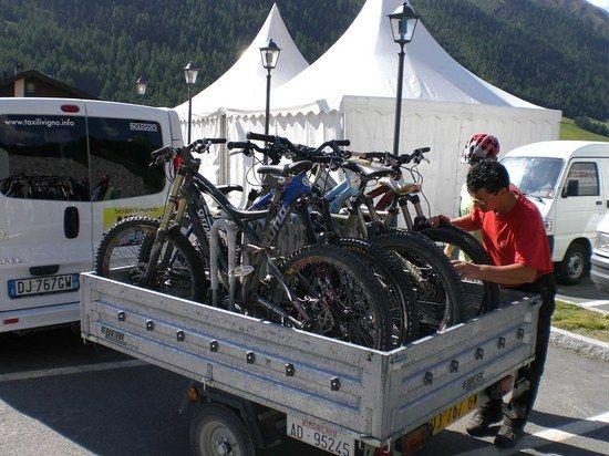 Bike Shuttle Livigno