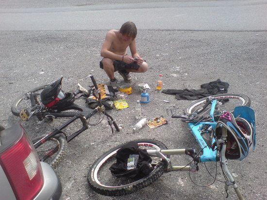 BikeparkWagrain Brotzeit