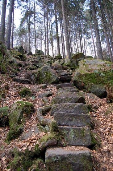 Abstieg zur Försterbrücke