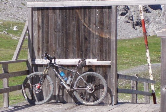Mein Bike Am Strelapass