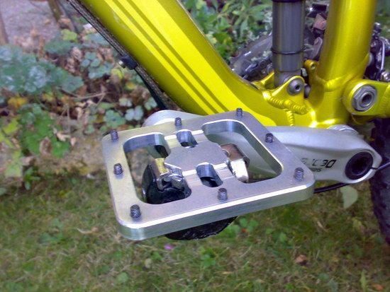 Klick flat pedal