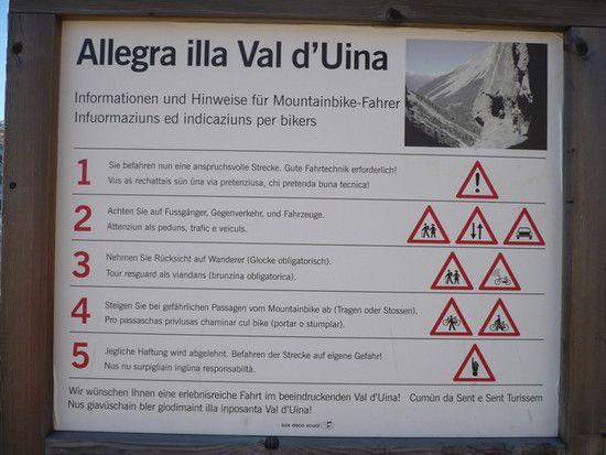 Uina-Schlucht Information_2007