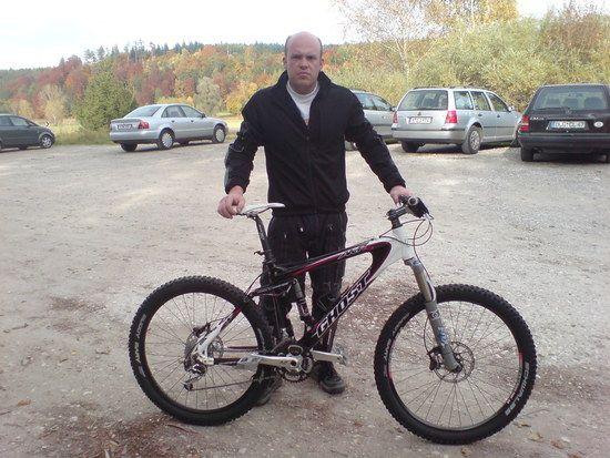 Heute beim Biken