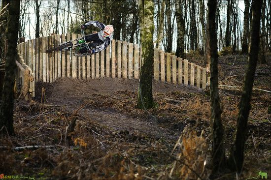 Curved Wallride Filthy Trails