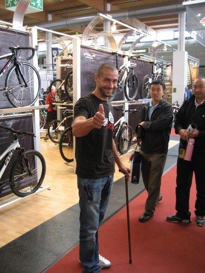 Fabien Barel Eurobike 2010
