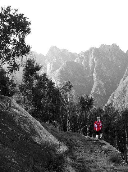Ein Trail der besonderen Art am Lago Maggiore