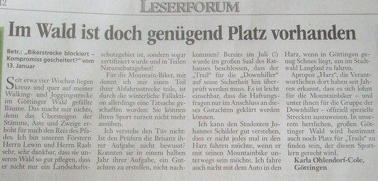GT Leserbrief 1.2.2012