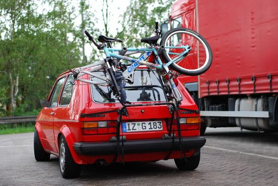 Biketransporter Golf 1 :D