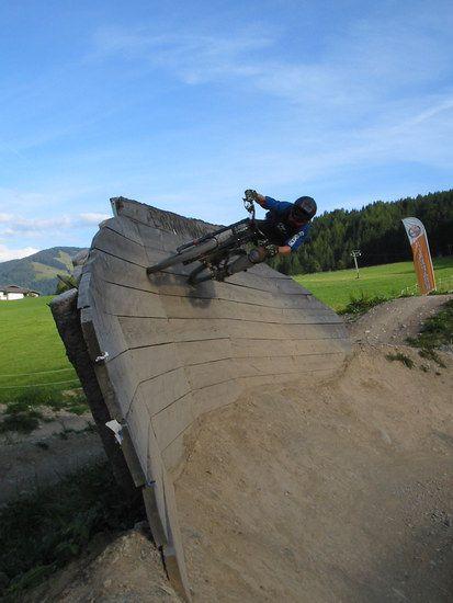 Leogang wallride