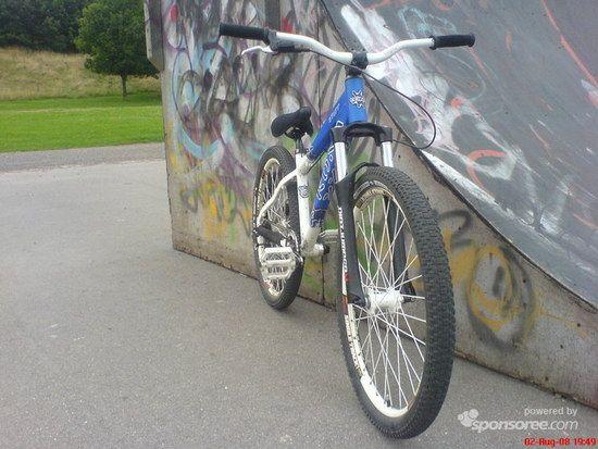 Mein altes Kona Stuff (gefahren 2008-2009)