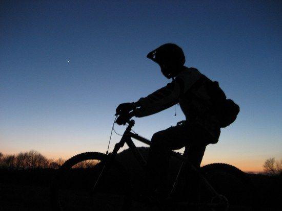 ja abends biken