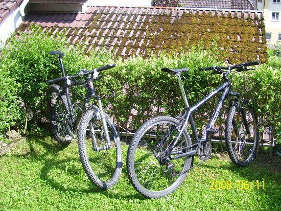 Meine zwei Bikes