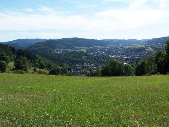 Blick vom Tanneneck auf Plettenberg