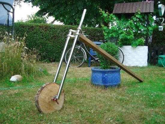 Garten Deko Bike