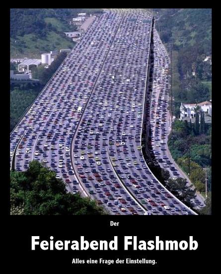 Feierabend Flashmob
