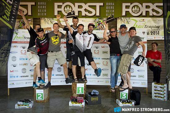 trailtrophy manfred stromberg7165b Podium Teamwertung Riderclass