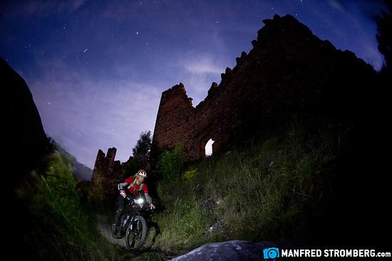 Die Nightsession unterhalb der Burg
