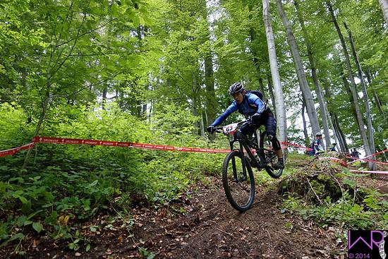 Olivier Bruwiere haengendes Steilstueck Stage 3