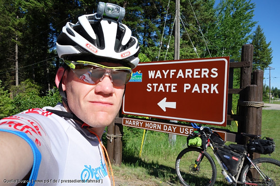 Wayfarers State Park in Montana