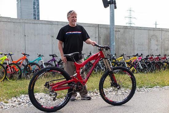 Brent Foes mir seinem FFR Prototyp 2014