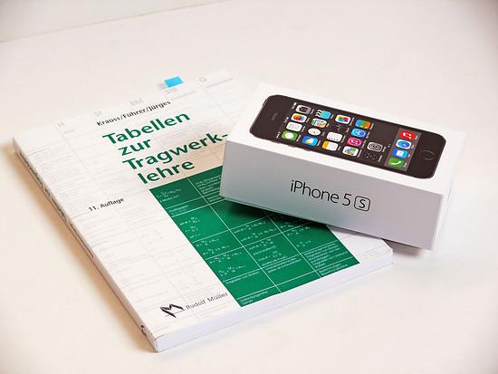iPhone 5S Tabellenbuch web