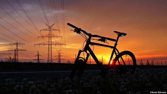 Sonnenuntergang in Niedersachsen