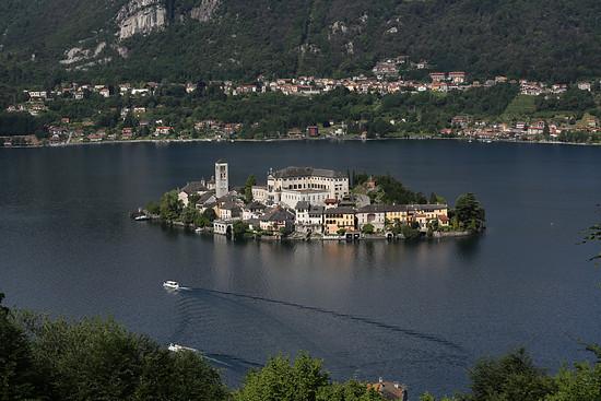 Isola di San Giulia im Ortasee
