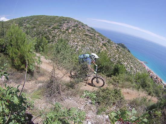 Donne Downhill selfshot