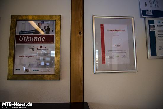 Auszeichnungen der noch jungen Firma