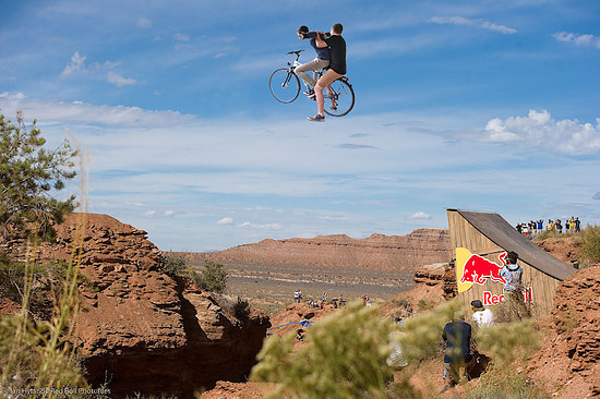 Red-Bull Rampage Offizielles Siegerfoto
