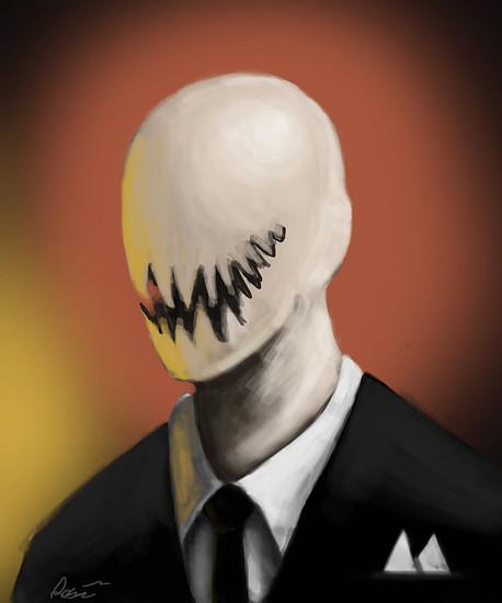 slender man portrait  unmasked by thebigemp3-d6be8nb