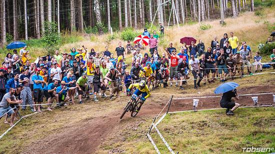 iXS German Downhill Cup #4 Ilmenau FANKURVE