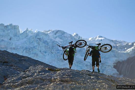 Bikebergsteigen der anderen Art! - Bild von: Rosenlaui