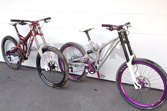Bikepaar 2014   Corsair Crown DH LTD
