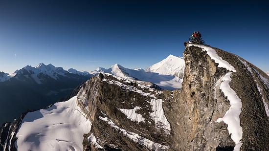 Hoch oben irgendwo in den Bergen