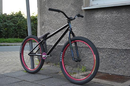 """NS Bikes Capital 24"""" Custom Aufbau von mir"""
