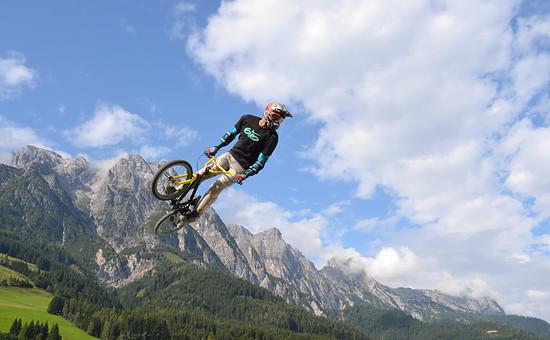 BMX in den Alpen...