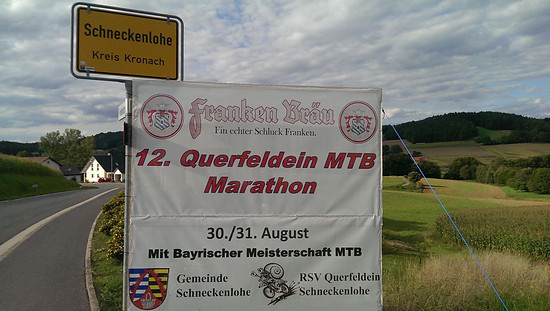 Ortseinfahrt Schneckenlohe