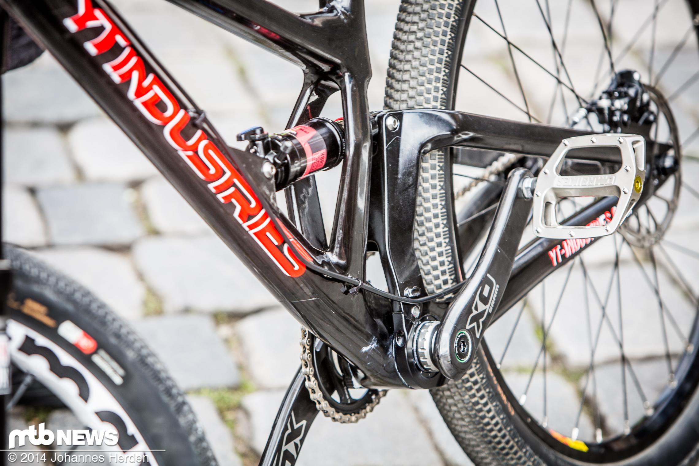 Exklusiv Yt Carbon Slopestyle Fully Prototyp