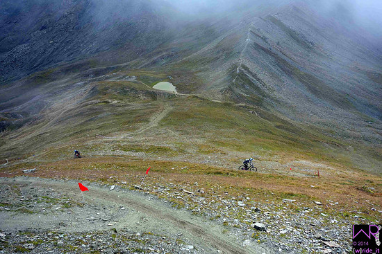 DSC3322 Steilhangslalom im Training auf Stage 4