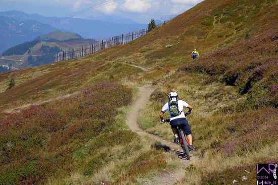 oberer eher flowiger Abschnitt Bergstadltrail bzw