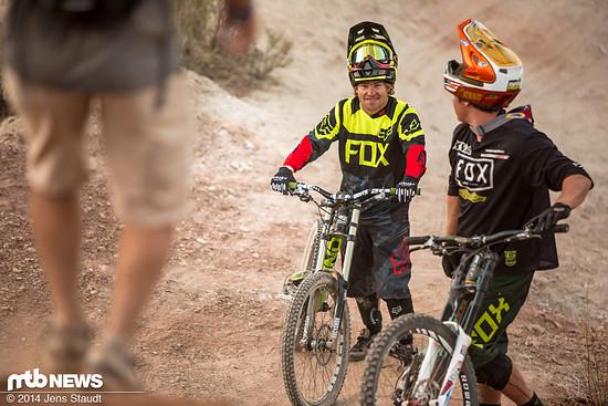 Robbie Bourdon und Kyle Strait