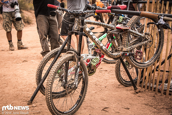Foto Jens Staudt RedBull Rampage 2014 Bikes-0819