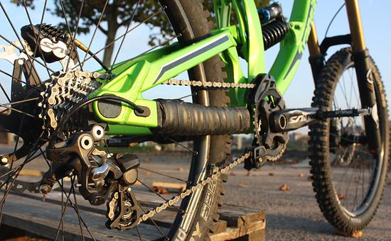 Transition Bikes - TR500 im Abendlicht
