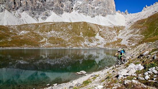 Autumn ride in Graubünden