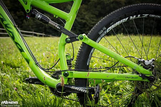Split Pivot findet sich mittlerweile an vielen Bikes